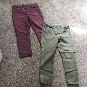 Two Pairs of Free People Jeans!